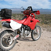 2001 XR650R adventure Build by ZMW.