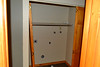 Closet.  Has hookups for washer/dryer