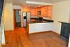 Entrance, living room, kitchen