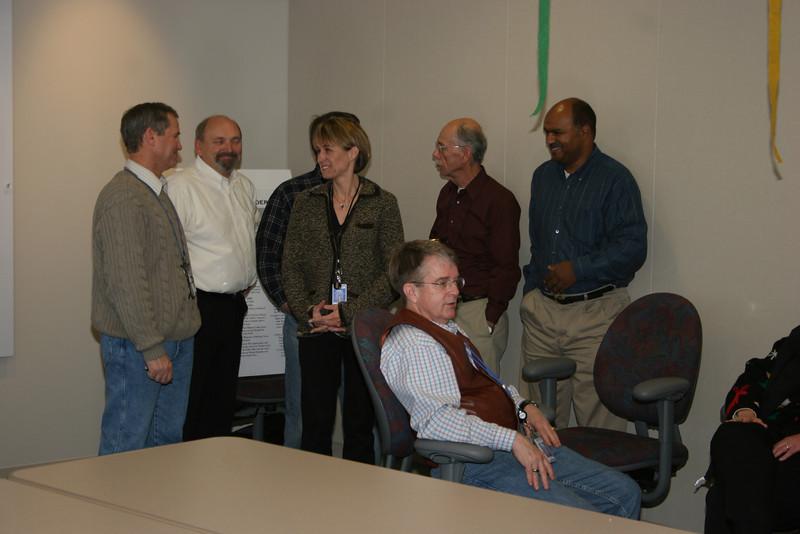 Gary, Jerry, Blanka, Brian (seated), Jay, Yared