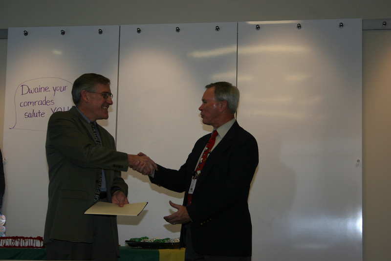 Larry with Proclamation, Dwaine