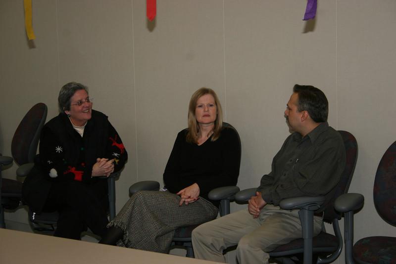 Liz, Wendy, Joel
