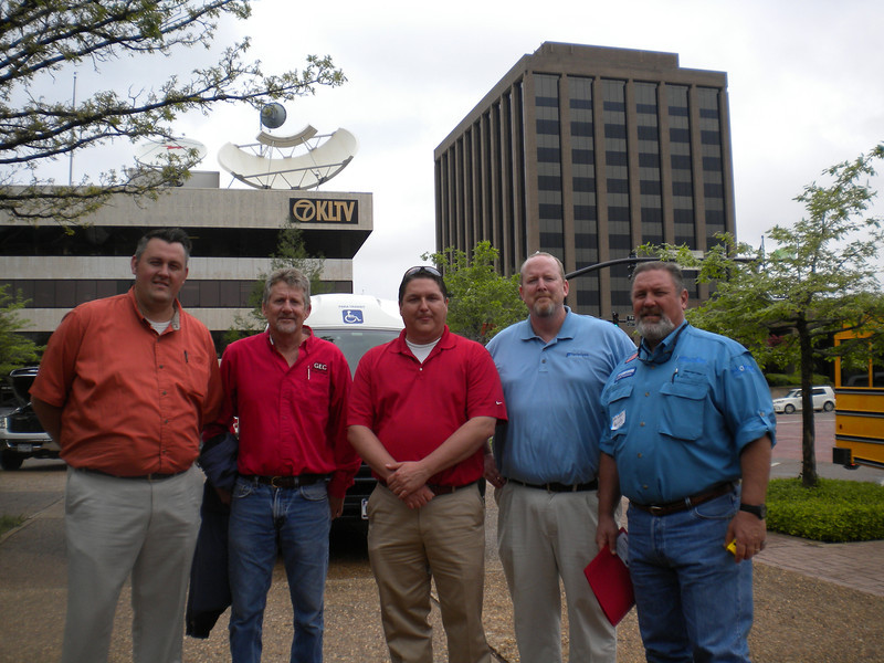 Ferrellgas, Gas Equipment, Heritage Propane, and Welchgas attend Moving Texans with Propane event in Tyler, TX on Thursday, March 29th, 2012 in the city's square.