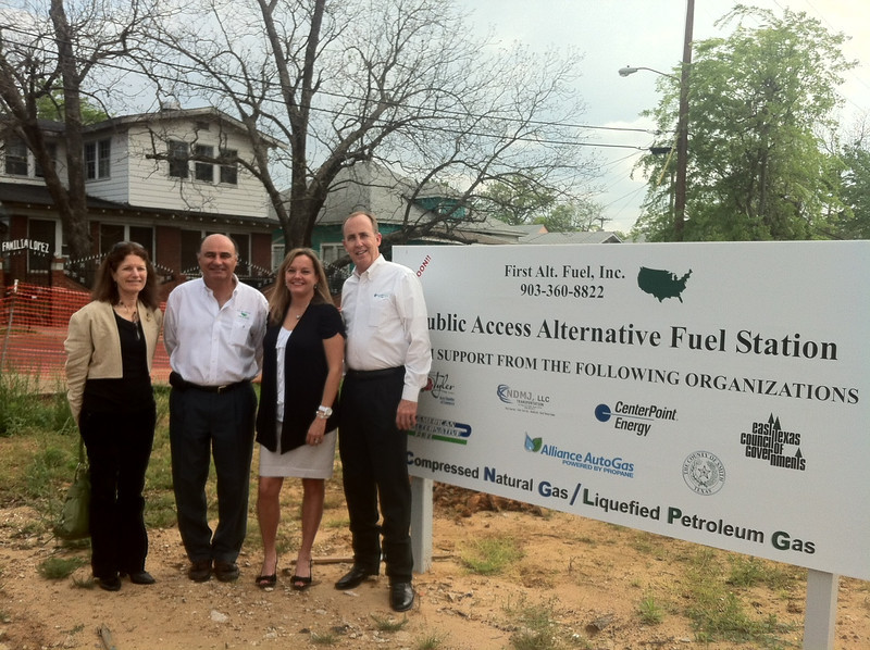 NDMJ, LLC to break ground on new 24 hour LPG and CNG refueling site in heart of Tyler, TX.