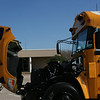 New Bule Bird Liquid Propane Injection School Bus.