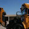 New Bule Bird Liquid Propane Injection School Bus.