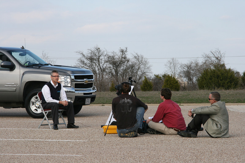 John Roberts of Bi-Phase Technologies does a on-camera interview discussing Schwan's propane-powered fleet for ProCOT's propane vehicle video.
