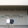 Harris Baker and Steve Frick, Pinnacle Propane attend the Moving Texans with Propane event. The alternative fuel roadshow was hosted by the Central Texas Clean Cities, the Railroad Commission, and the City of Temple took place at Mayborn Civic & Convention in Temple, TX on February 7, 2012.