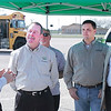 Curtis Donaldson, CLEANFUELUSA talks to Propane Roadshow attendees Rep. Ralph Sheffield; TPGA President, Chad Gray of Dixie LP Gas; and TPGA Executive Director, Bill Van Hoy about propane autogas.