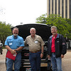Wes Welch, WelchGas; Larry Baty, Cadenhead Servis Gas; and Steve Higginson, Gas Equipment Company help showcase propane autogas at the Moving Texans with Propane event in Tyler, TX on Thursday, March 29th, 2012.