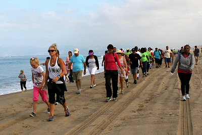 2014 August - Dockweiler Beach Fitness Challenge
