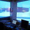 (by the end of the day, the snow drift on the window was more than 2x this size!!)