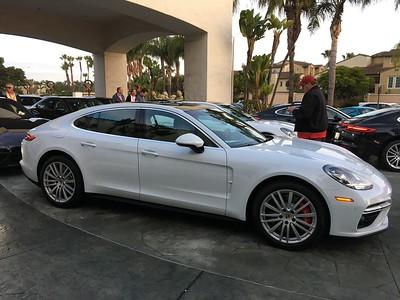2017 PORSCHE PANAMERA Launch in Huntington Beach California