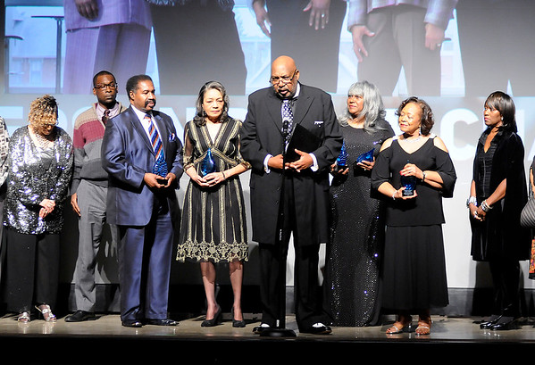 Don Knight | The Herald Bulletin<br /> Madison County Chamber of Commerce annual awards night on Thursday at Madison Park Church of God.