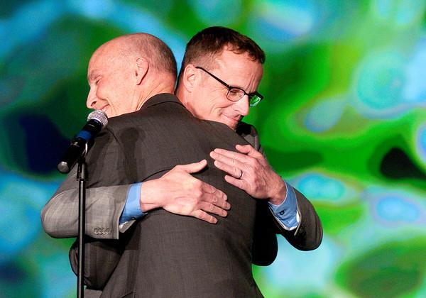 Don Knight | The Herald Bulletin<br /> Chairman's Award winner Rob Sparks.