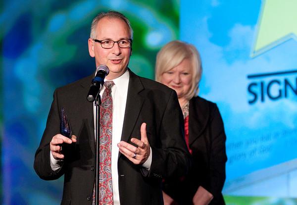 Don Knight | The Herald Bulletin<br /> Ambassador of the Year winner Wayne Bruzzese.
