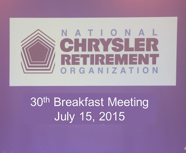 30th Breakfast Meeting July 15, 2015