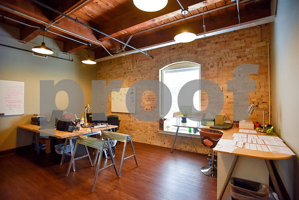 Pixologie's office at Co.Work in Tyler, Texas, on Tuesday, March 21, 2017. Co.Work is a rent-a-desk and collaborate space for professionals who don't want the structure or expense of a full office. (Chelsea Purgahn/Tyler Morning Telegraph)