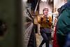 Lauren von Krusenstiern giving a tour at Green Mountain Spinnery; KELLY FLETCHER, REFORMER CORRESPONDENT