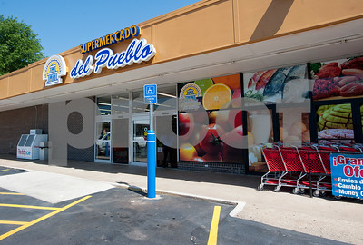 Supermercado Del Pueblo is a new grocery store located at 2311 W. Erwin St. in Tyler. The store is 12,000 square feet and opened in April.  (photo by Sarah A. Miller/Tyler Morning Telegraph)