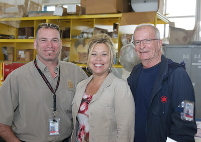 Jeff McAulay, (Lead Station Attendant and Union Rep), Sandra Smith (AC Concierge) and Barry Gilbert (Station Attendant)