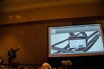 Autodesk 360 Integration with AutoCAD Civil 3D James Wedding demonstrates the interoperability between AutoCAD Civil 3D and Autodesk 360 during Monday's Infrastructure Symposium at Autodesk University 2012.