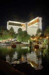 Mirage Hotel Las Vegas at Night