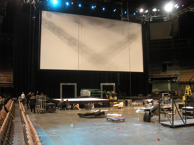 General Session Stage Setup