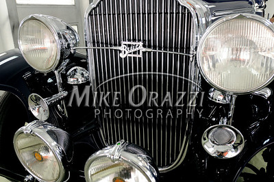 3/28/2009 Mike Orazzi | Staff A 1932 Buick Model 67 restored by Jesse Morton of Forestville.