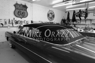 3/28/2009 Mike Orazzi | Staff A 1965 Cadillac convertible restored by Jesse Morton of Forestville.