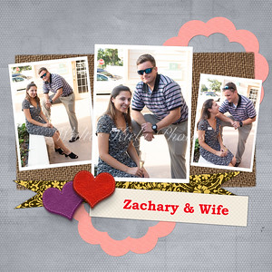 Zachary Ensor and Wife