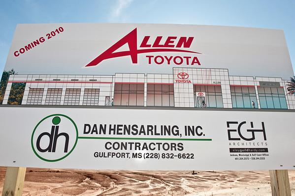 Allen Toyota Groundbreaking