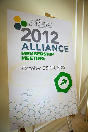 Alliance Annual Membership Meeting 2012