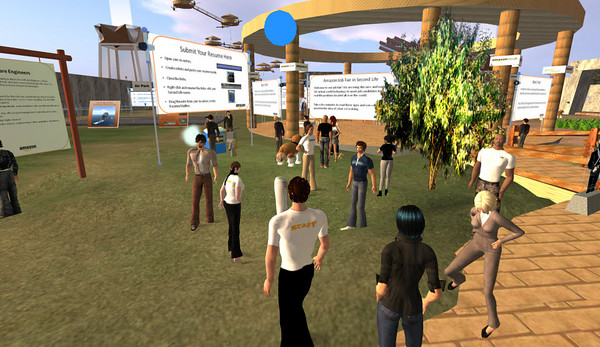 Amazon Job Fair in Second Life - July 14, 2009