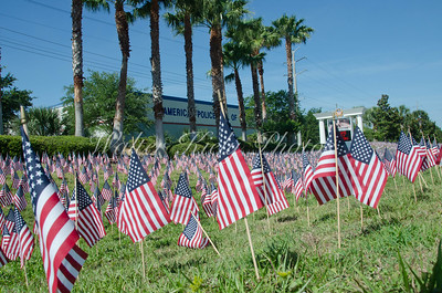 Flags for Fallen Officers 2013