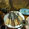 Kayla Rice/Reformer<br /> Antique silverware at Aumand's Junk-Tiques in Bellows Falls.