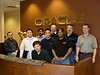 The Tech Team.<br /> From left: Paul Sorando, Lane Findley, Philip Mcintosh (in hiding mode), Mike Lee (the boss), Harish Parameswaran, Terence Tan (in green), Eric Wong, Christopher Bennett, Aurelius Figuredo (in black), Jeff Mcreynolds (Lead Architect) and Roby Roberts.