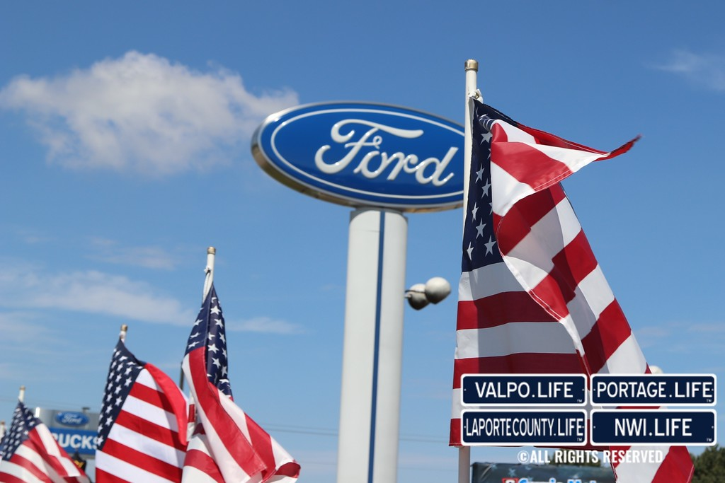 Currie Ford Valpo >> Folds Of Honor At Currie Ford Of Valpo 2018 Iim Media