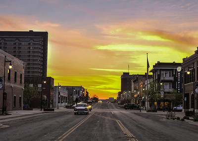 04-15-14 Sunset on Frank Phillips