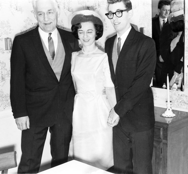 Fred's Wedding 1963