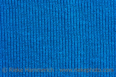 Close-up of a woolen pattern - detail of plain knitting