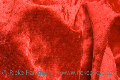 Red Velvet Fabric – Full Frame