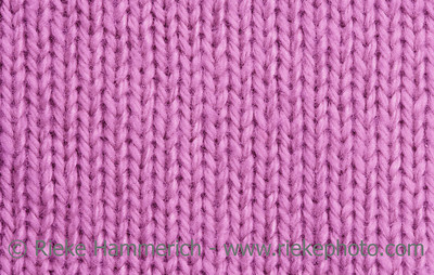 Macro of a woolen Pattern - Detail of plain Knitting
