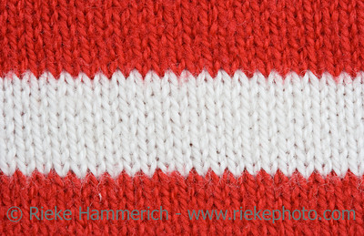 Striped Textile Background – Macro of a Knitting Pattern