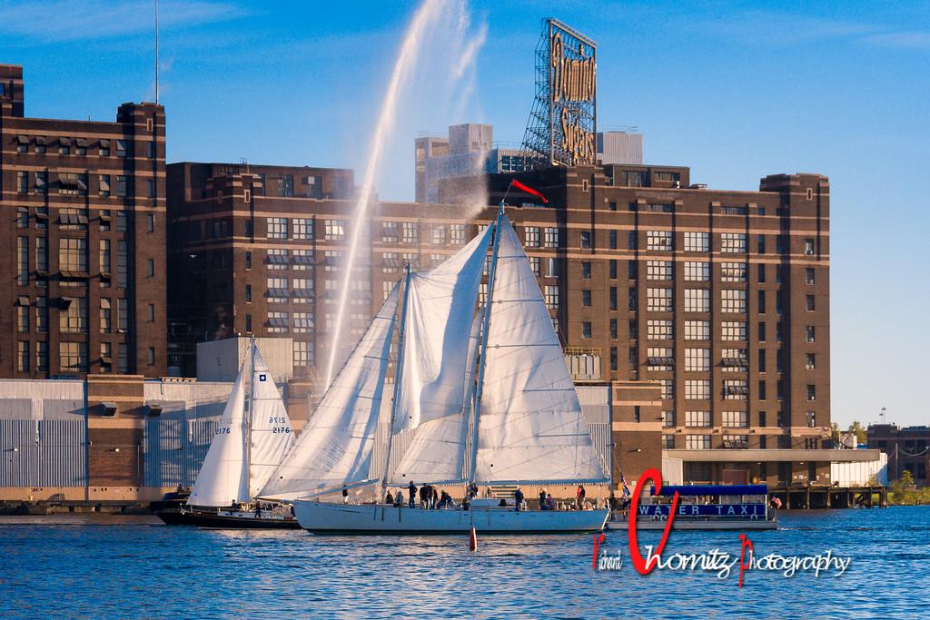 Baltimore Fleet Week Schooners