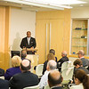 US Trade Ambassador Ron Kirk speaks before the Beacon Council.