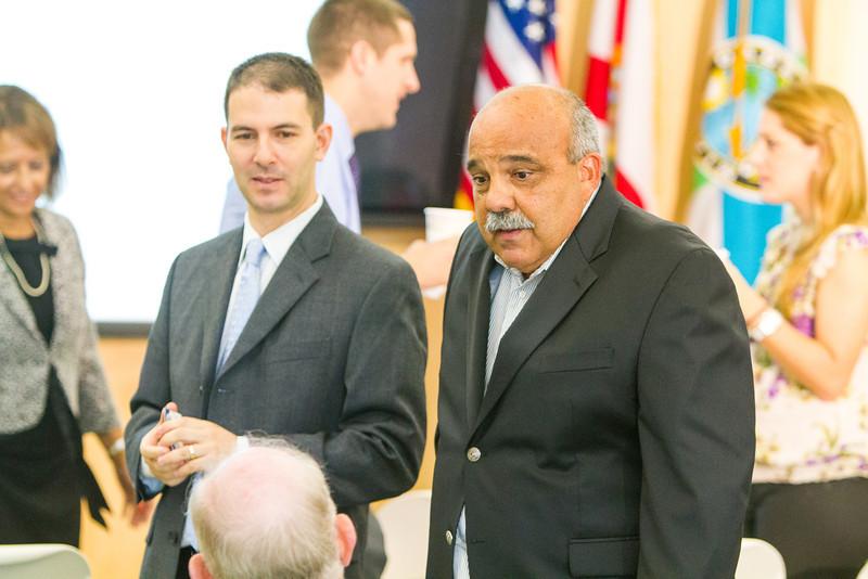 Miami Dade Superintendent Alberto Carvalho speaks at Beacon Council Access Breakfast about a 1.2 Billion dollar school bond initiative.