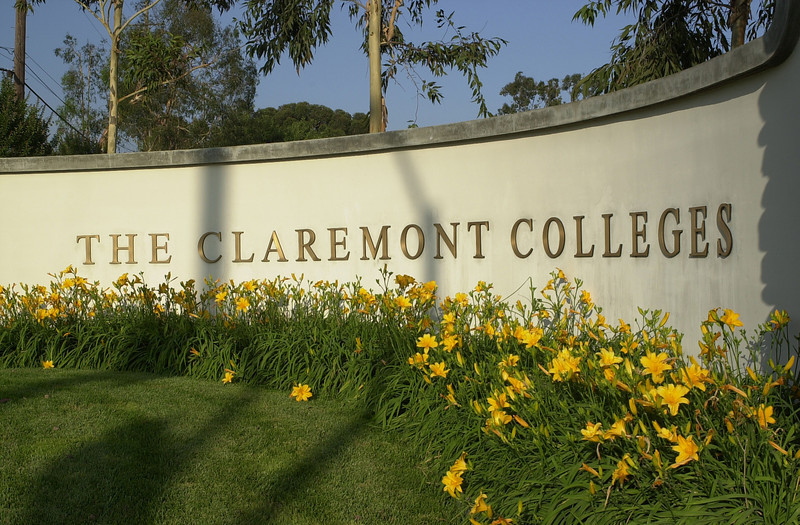 Claremont Colleges Wall