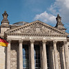 "The inscription on the entrance to the Reichstag reads ""The German People""."