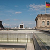 Berlin from the roof of the Reichstag.